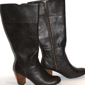 New Dark Brown Sonoma Tall Boot Sz. 8.5